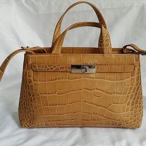 Furla snakeskin purse